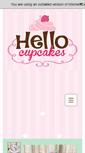 Mobile Preview of hellocupcakes.ca