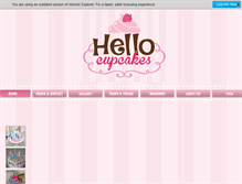 Tablet Preview of hellocupcakes.ca